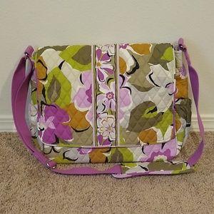 Vera Bradley Crossbody Messenger Laptop Diaper Bag